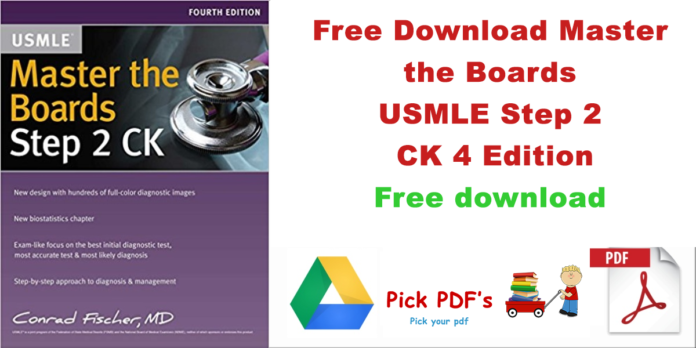 Master the Boards USMLE Step 2 CK PDF 4th Edition Free