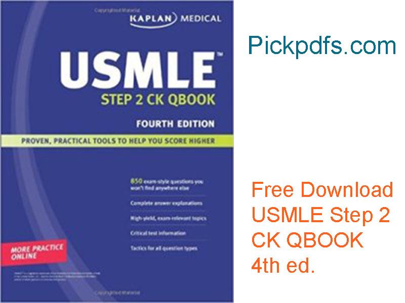 USMLE Qbook kaplan medical