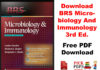 Download BRS Free Medical Book