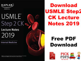 USMLE step 2 lecture nots